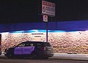 Authorities said a man was shot by a security guard outside the Dream On Saloon at 15920 S.E. Stark St. early Tuesday and later died from his injuries. The shooting followed a disturbance involving two men and the security guard, police said.  (KOIN photo)