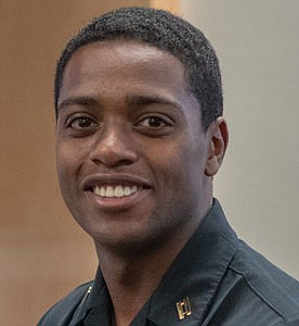 Midshipman First Class Aaron J. Lewis, Drum Major Award