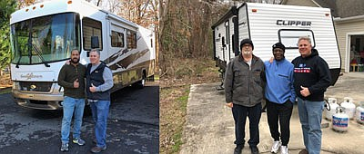 """Mallory's Crownsville-based nonprofit, """"Truckin 4 Troops"""" was incorporated in January 2011 and since that time, the nonprofit has been supporting ..."""