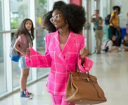 "Marsai Martin might want to work a little harder. At least that's the joke her ""Little"" co-stars Issa Rae and ..."