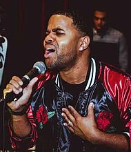 Ramone Javon Griffith (pictured) is known professionally as RJ Griffith and creates inspirational music as a way to generate more positive energy in the world. Photo Credit: Provided by RJ Griffith