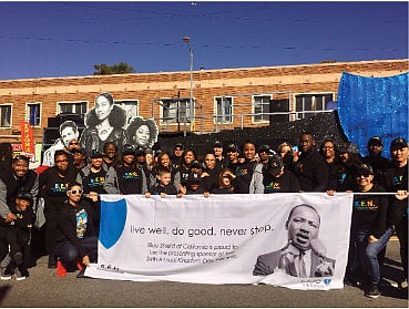 Blue Shield of California Celebrates Martin Luther King, Jr. Day in Los Angeles