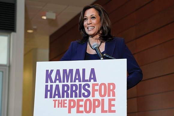 She's running! U.S. Sen. Kamala D. Harris announced Monday that she is seeking the 2020 Democratic nomination for president. She ...
