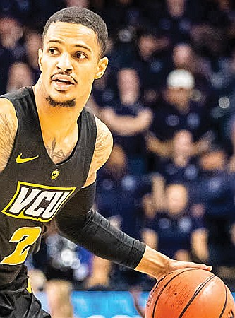 Virginia Commonwealth University's leading basketball scorer, Marcus Evans, is back where it all started for him — in the 804 ...