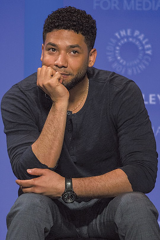 Jussie Smollett, one of the main actors on the hit show...