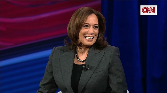 As Kamala Harris introduced herself as a 2020 presidential candidate to Iowa caucus-goers and the nation on Monday night, she ...