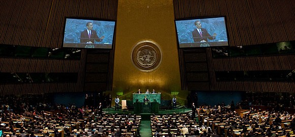 Current Chairman and Prime Minister of St. Kitts Timothy Harris led the delegation to the talks at U.N. headquarters in ...