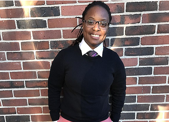 S.J. Weathers, 23, of Harlem, is the winner of the Dear Future New York City Challenge.