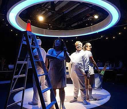 Inspired by children who are visually impaired, X-Marks the Spot uses sounds, voices, tastes, and touchable, scented props to create an all-new, multisensory theater event for all audiences.