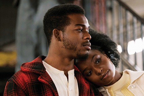 "Stephan James and Kiki Lane star as a young couple relying on their love to sustain them through unspeakable hardships in ""If Beale Street Could Talk."""