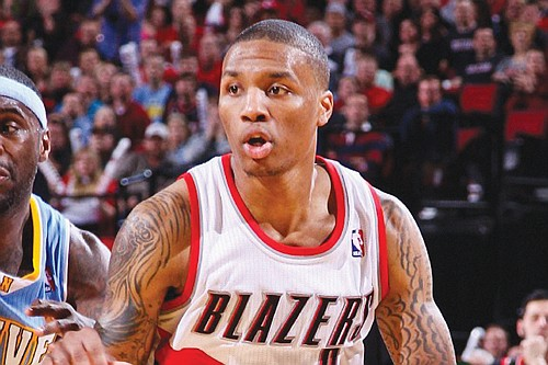 Portland Trail Blazers guard Damian Lillard was named an NBA Western Conference All-Star by a vote of NBA head coaches ...