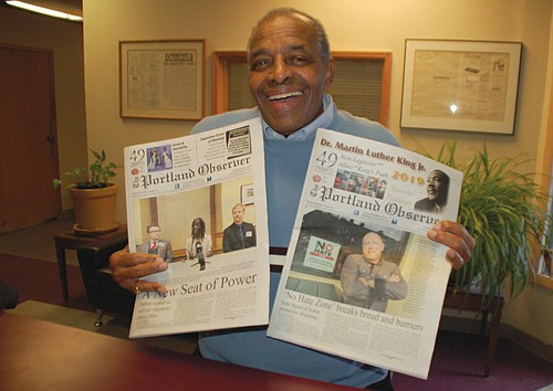 Harvey Garnett, 82, Portland first black theater owner was the first person to ever take out advertising in the Portland ...
