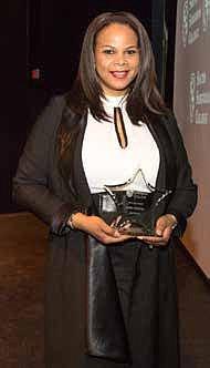 Pictured: 2018 Women's Conference STAR Award recipient Erika Gilchrist.