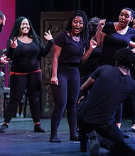 A community of youth and adult artists explore history through artistic expression in the annual theater production 'Who I am; Celebrating Me.'