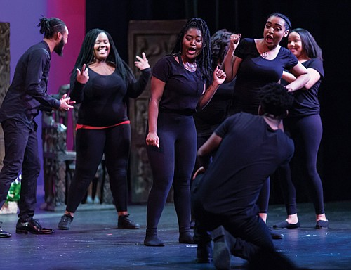 """Portland'5 presents the 13th annual """"Who I Am; Celebrating Me,"""" a community of youth and adult artists exploring black history ..."""