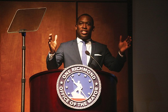 Good things are happening in Richmond, Mayor Levar M. Stoney said as he used his State of the City speech ...