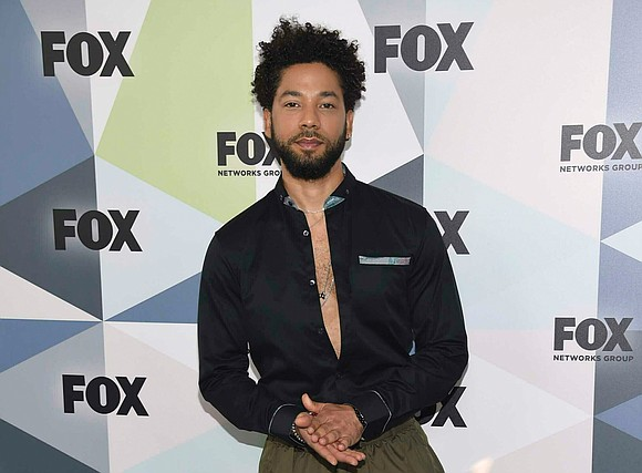 """Empire"" actor Jussie Smollett was blunt, emotional and defiantly determined last Saturday night at a Southern California concert some urged ..."