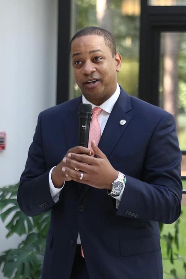 Virginia Lt. Governor Justin Fairfax