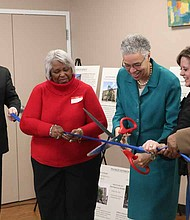 The Housing Authority of Cook County recently hosted a celebration to announce the completion of their massive investment in renovating low-income housing facilities across the county. Photo Credit: