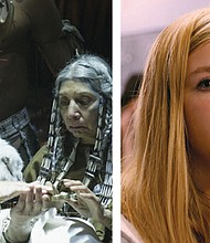 The unearthing of a long-vanished Canadian village brings new reverence for Native American ancestors and connections across generations in Francois Girard's 'Hochelaga, Land of Souls' (left). Elsie Fisher conveys the anxiety and insecurity of adolescence in 'Eighth Grade.'
