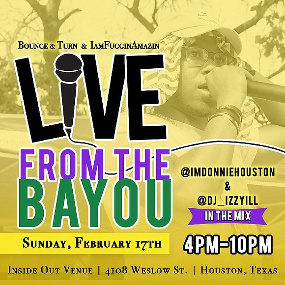 Louisiana Hip-Hop Artist John Fuggin Dough in Partnership with Bounce & Turn Presents 'Live From The Bayou: 2nd Edition'