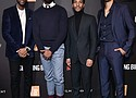 (L-R) Justin Dunkley, Tarell Alvin, McCraney, Andre Holland and Melvin Gregg