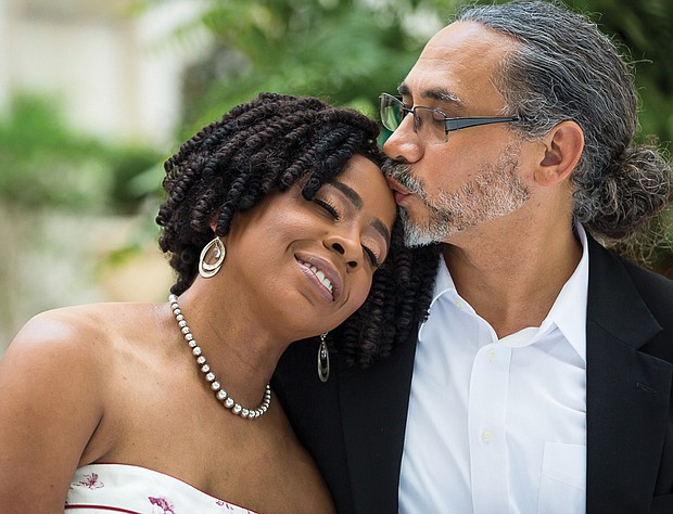 Dr. Paula Young Perez and Martin Perez-Married 5 years