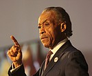 Rev. Al Sharpton condemns blackface and calls for Gov. Ralph S. Northam to resign in his keynote address Feb. 7 at Virginia Union University's Reflections On Faith, Community and Racial Reconciliation program.