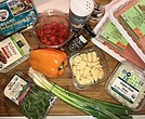Chicken chili meatloaf ingredients (Kysha Harris photo)