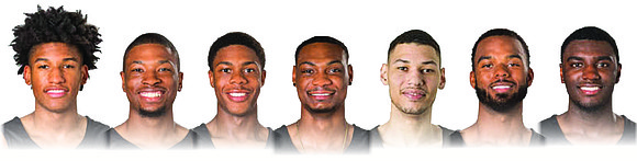 """Virginia Commonwealth University's leading basketball scorer doesn't have a real name, just a nickname. Meet the """"Bench Bunch."""""""
