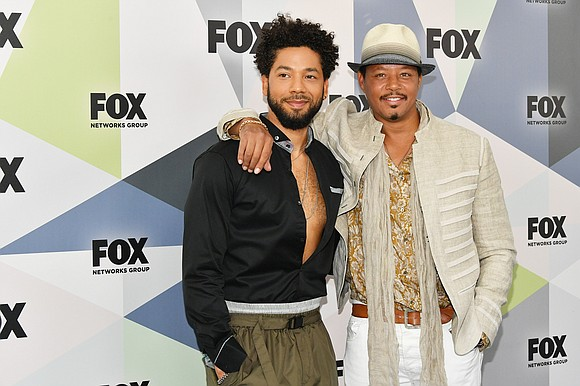 Actor Terrence Howard is supporting his television son, Jussie Smollett, after he was accused of staging a hate crime attack ...