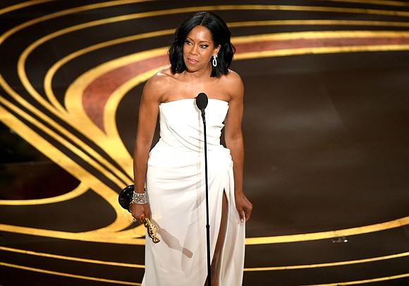 Regina King is now an Oscar winner. The actress was awarded the best supporting actress statue on Sunday for her ...