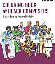 The Music by Black Composers Coloring Book aims to bring black classical music to the forefront. It's just one initiative of the Rachel Barton Pine Foundation who's mission in part is to provide services and funding for classical music education. Photo Credit: Rachel Barton Pine Foundation