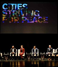 A new collaborative community-based initiative to reduce gun violence in Chicago, The inVEST campaign, was recently launched at the Cities Striving for Peace event. Photo Credit: The inVEST Campaign