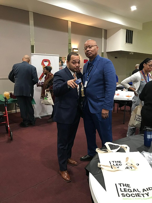 Black community leaders in Staten Island came together Saturday, Feb. 23, for the 14th annual Staten Island Black History Town ...