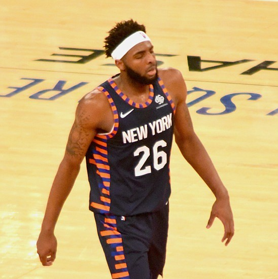 Led by youngsters, the Knicks experience the joy of winning