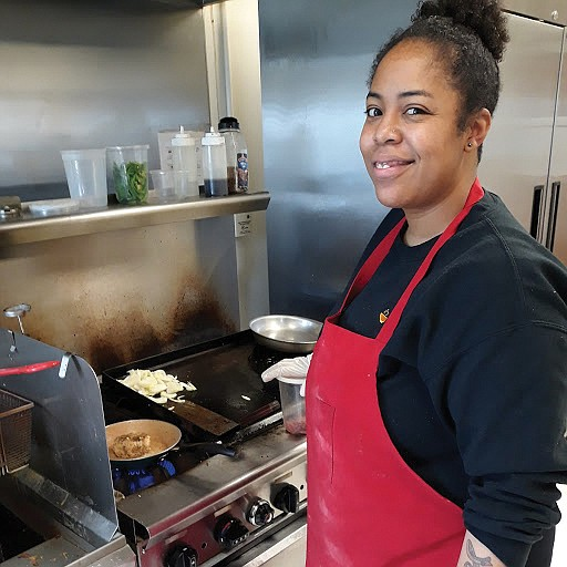 On weekdays, the kitchen at Faith Community Baptist Church in Richmond's East End is a beehive of activity six hours ...