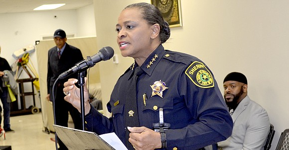 Sheriff Marian Brown, the first African American sheriff of Dallas County, stated that her entire life has been preparing her ...