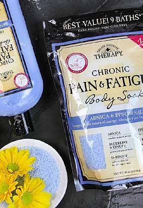 Soothe sore muscles and regain energy courtesy of the new Chronic Pain & Fatigue line from Village Naturals Therapy, a Proud Sponsor of the National Fibromyalgia Association. Products are now available in Walmart stores.