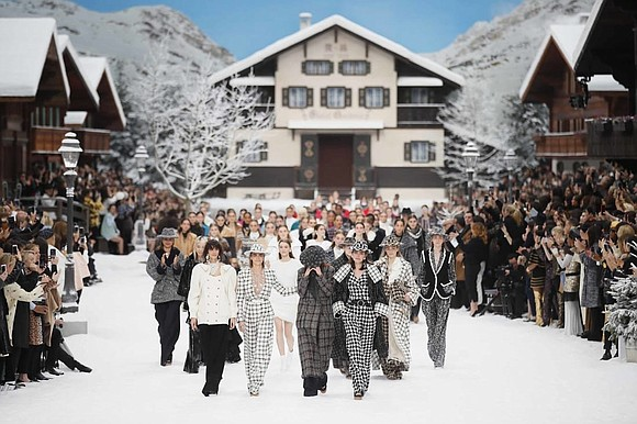 French fashion house Chanel paid tribute to Karl Lagerfeld, its late creative director, at Paris Fashion Week on Tuesday morning.
