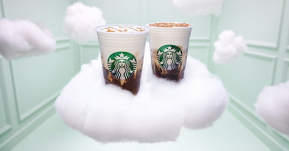 Starbucks just unveiled its latest coffee drink: The cloud macchiato, made with egg-white powder.