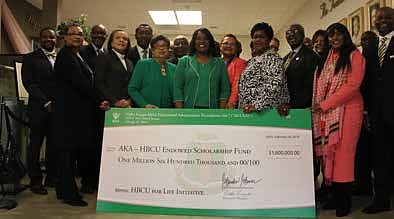Alpha Kappa Alpha Sorority Inc. recently donated $1.6 million to 32 historically black colleges and universities including Chicago State University, ...