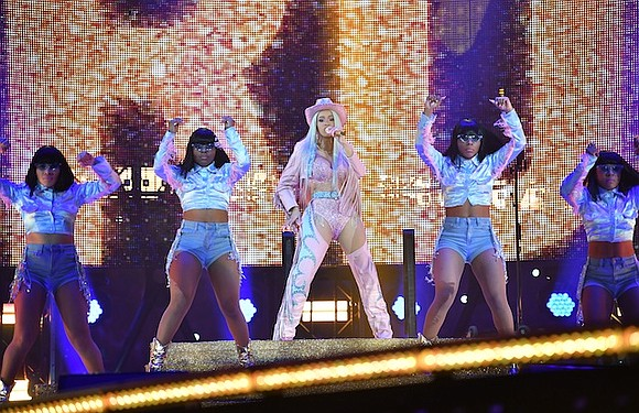 Over 75,000 paid to see rapper and entertainer Cardi B setting a record for the first time Rodeo Houston performer. ...