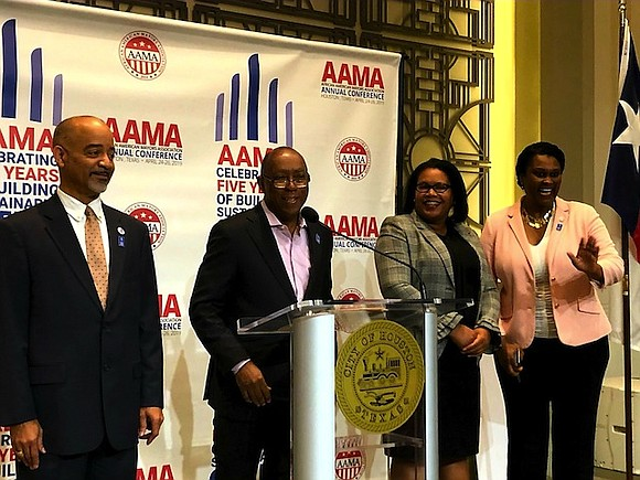 Houston Mayor Sylvester Turner made an exciting announcement today that the African American Mayors Association will hold its national conference ...