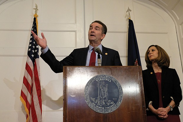 Gov. and First Lady Northam