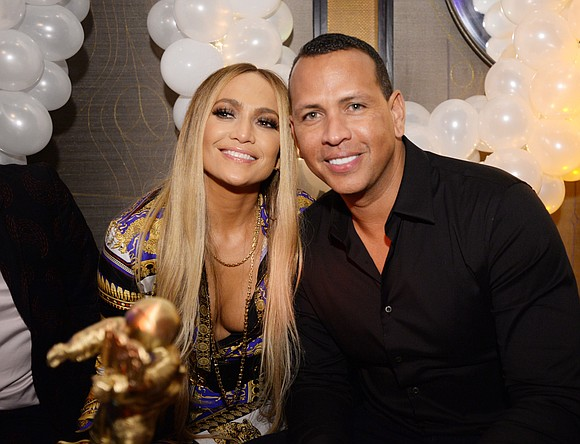 """Jenny from the block got a rock. """"She said yes,"""" Alex Rodriguez gushed on Instagram as he posted the picture ..."""