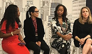 The 2018 Empowering Women in Media, a networking and panel event that feturing women of color in media as they share stories with other women who are looking to break into the world of media.