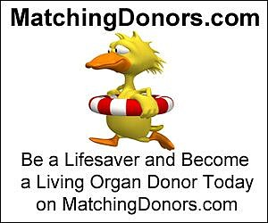 MatchingDonors is a 501c3 nonprofit organization, and the nation's largest living organ donor organization finding and registering living organ donors ...
