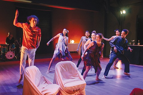 An ensemble of multi-dimensional dancers and musicians under the artistic direction of Oluyinka Akinjiola comprise Portland's Rejoice! Diaspora Dance Theater. ...