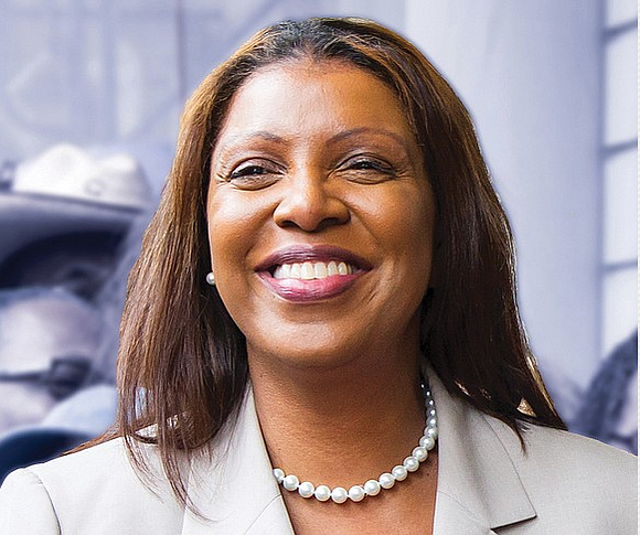 New York Attorney General Letitia James, leading a coalition of 18 states, 16 local governments and the U.S. Conference of ...